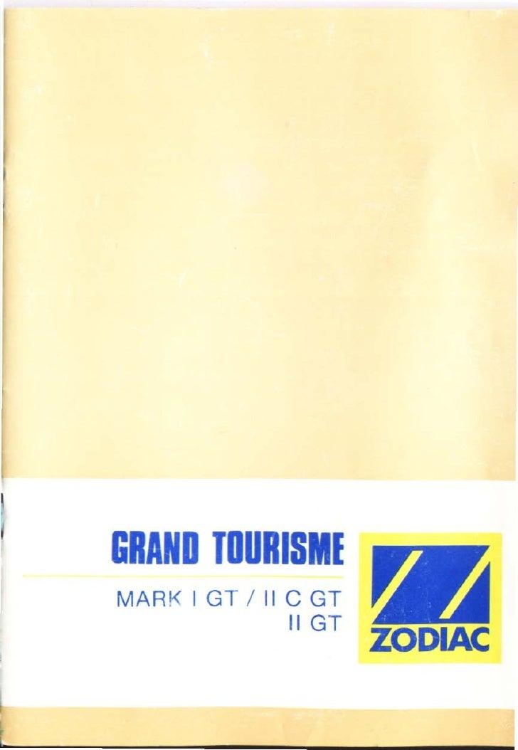 GRAND TOURISME MAR K 1GT / Il C GT                Il GT                        ZODIAC