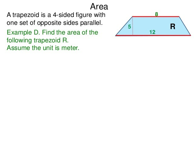 51 basic shapes and formulas area example d find ccuart Images