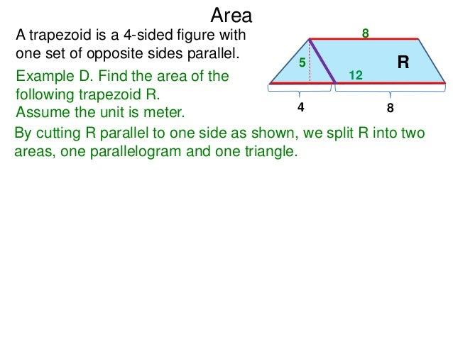 51 basic shapes and formulas