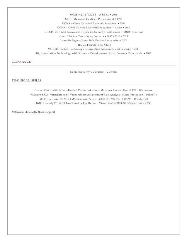 Michael Marange Resume 07-2015