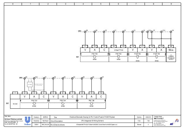 PLC Control Panel for HVACR System