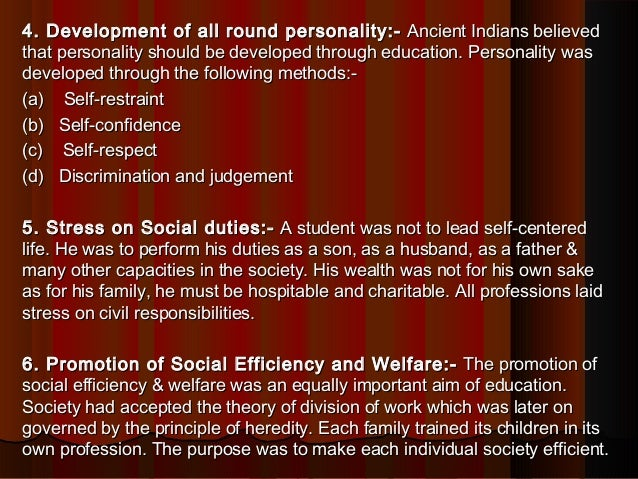 Education System In Vedic Period