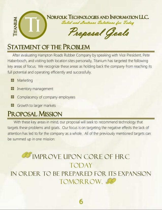 proposal binder