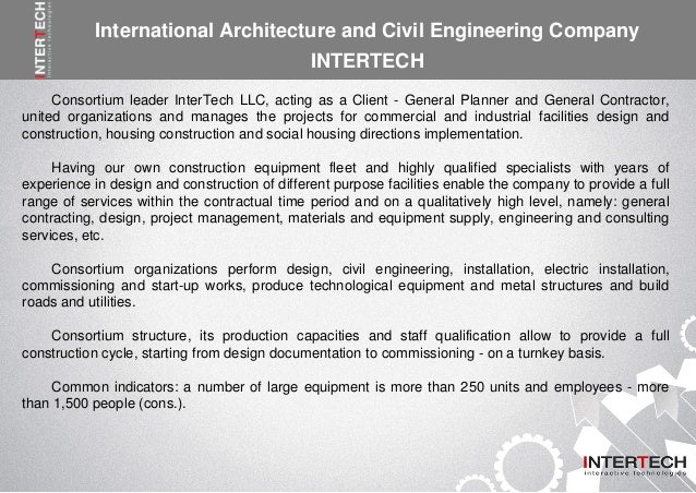 InterTech is one of the civil engineering companies in Doha Qatar