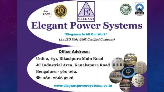 Elegant Power Systems