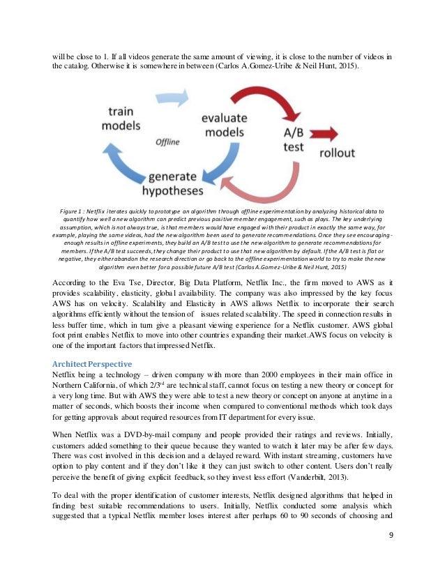 netflix case study Video streaming marc randolf case study technology deploymentnetflix 2 abstract netflix keywords: netflix reed hastings netflix's new and innovative approach.