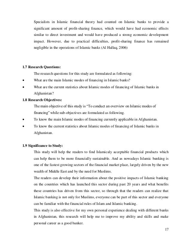 islamic banking projects for students