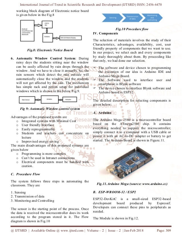 IoT based Classroom Automation using Arduino