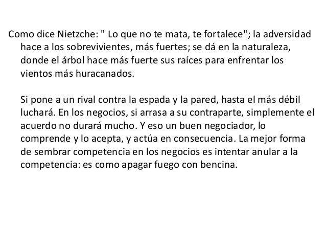 """Como dice Nietzche: """" Lo que no te mata, te fortalece""""; la adversidad hace a los sobrevivientes, más fuertes; se dá en la ..."""