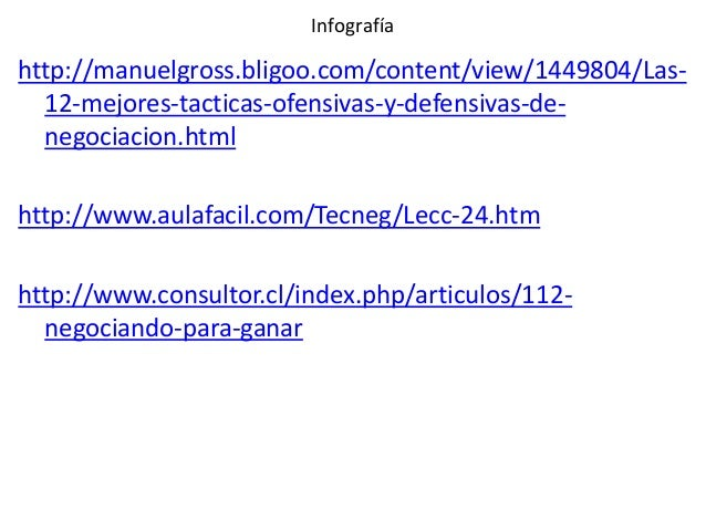 Infografía  http://manuelgross.bligoo.com/content/view/1449804/Las12-mejores-tacticas-ofensivas-y-defensivas-denegociacion...