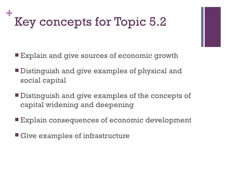 5.2 development economics growth