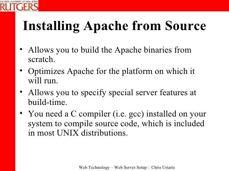 Apache Web Server Setup 2