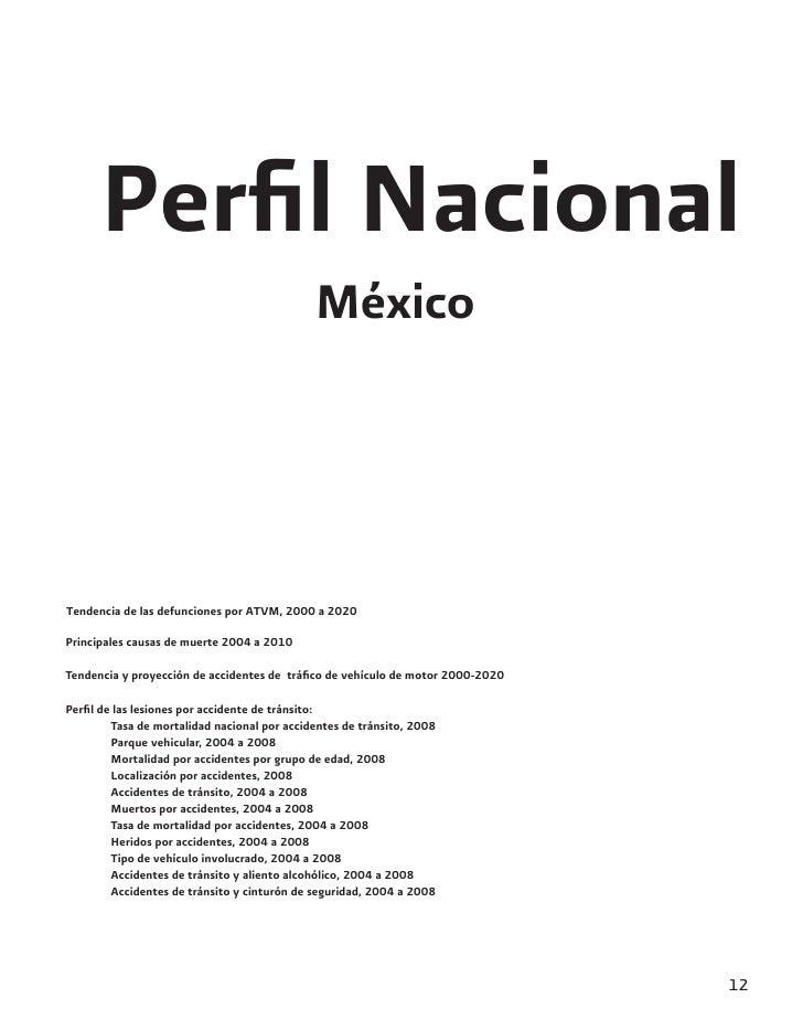Perfil Nacional                                             MéxicoTendencia de las defunciones por ATVM, 2000 a 2020Princip...