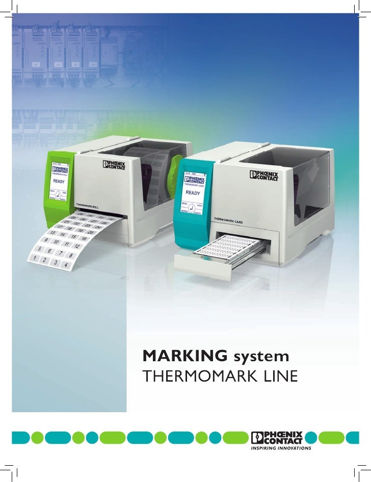 MARKING systemTHERMOMARK LINE