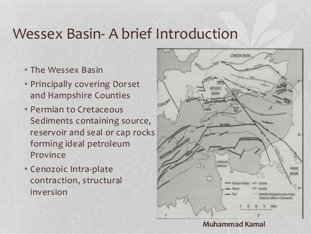 petroleum system of wessex basin