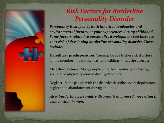 a case study of borderline personality disorder