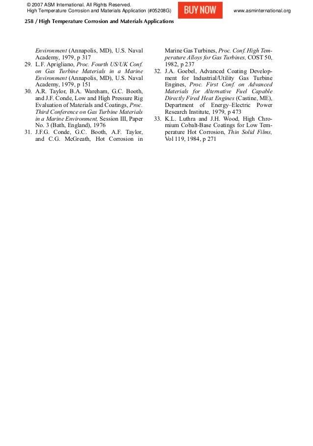 Environment (Annapolis, MD), U.S. Naval Academy, 1979, p 317 29. L.F. Aprigliano, Proc. Fourth US/UK Conf. on Gas Turbine ...
