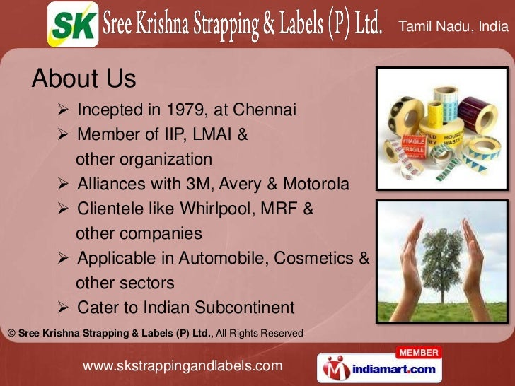 About Us<br /><ul><li>Incepted in 1979, at Chennai