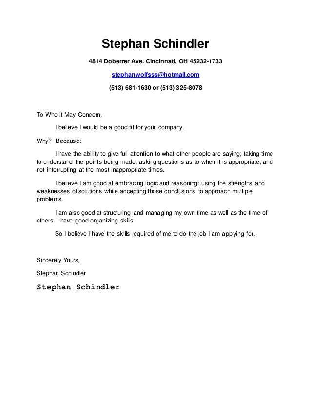 Stephan Schindler Docx Cover Letter 9 8 2015