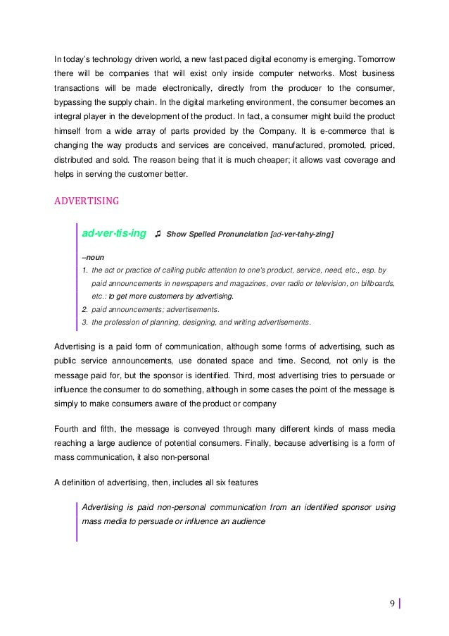 52177193 internet-marketing-project-report