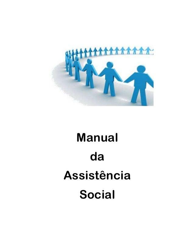 Manual da Assistência Social