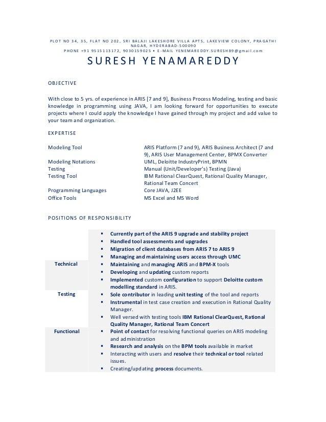 suresh yenamareddy resume