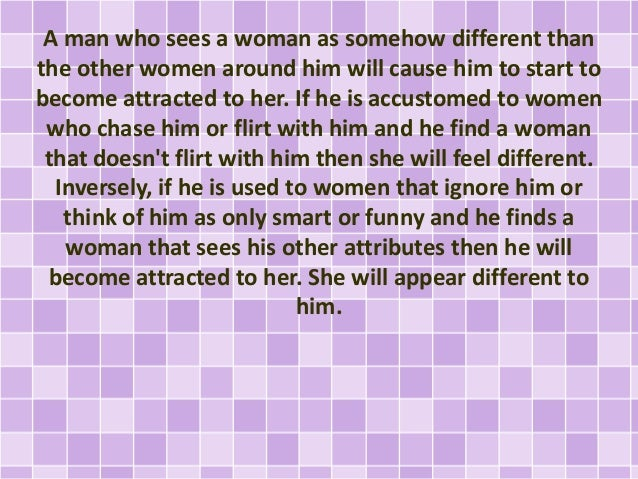 What Makes A Woman Fall In Love With A Man
