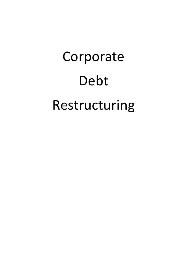 What is Corporate Debt Restructuring (CDR)?