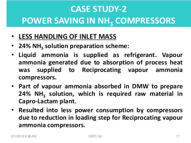 Mis Case Study in Chemical Industry