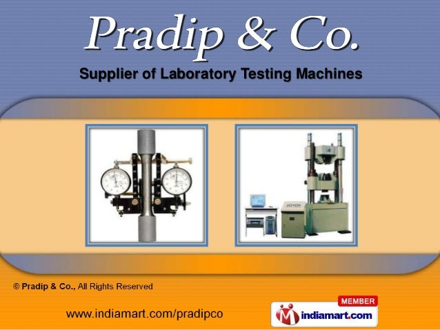 Supplier of Laboratory Testing Machines