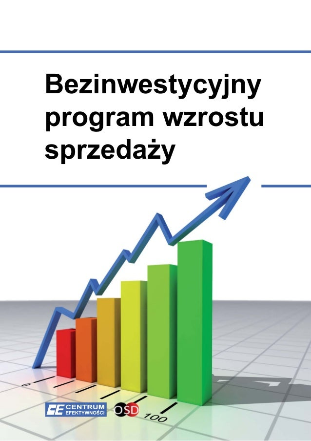 Bezinwestycyjny program wzrostu sprzedaży