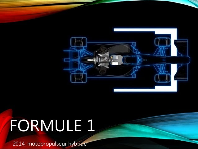 FORMULE 1 2014, motopropulseur hybride