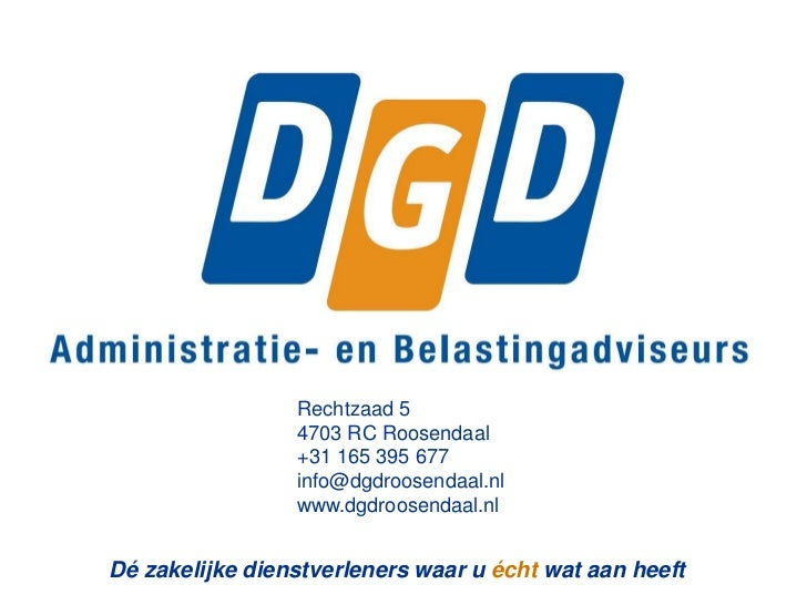 Rechtzaad 5                        4703 RC Roosendaal                        +31 165 395 677                        info@d...