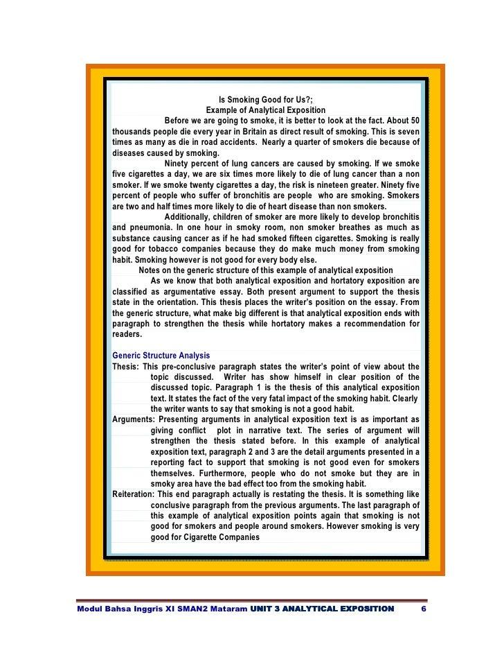 Modul Bahasa Inggris Xi Unit 3 Analytical Exposition