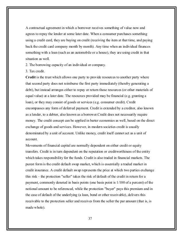 52652115 Analysis Of Credit Default Of J K Bank