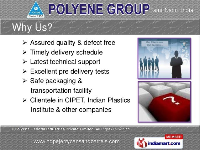 Jerry Cans by Polyene General Industries Private Limited Chennai Slide 3