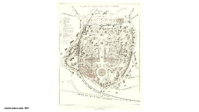 crystal palace park, 1857