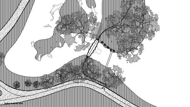 bridge plan & swing direction