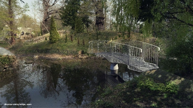 Dinosaur Bridge - Consultation presentation by Matthew Burnett, Tonkin Liu Architects, July 2019