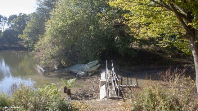 access to weir for maintenance