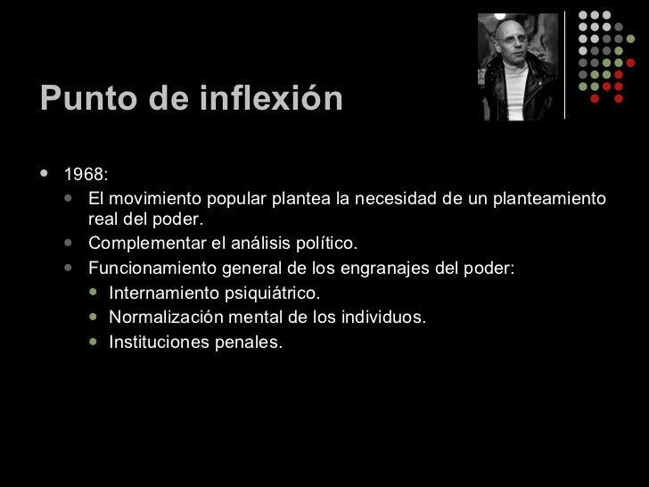 Punto de inflexión <ul><li>1968: </li></ul><ul><ul><li>El movimiento popular plantea la necesidad de un planteamiento real...