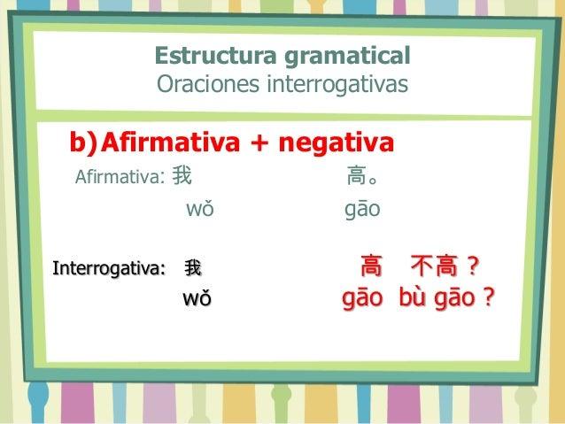 Estructura Gramatical 1