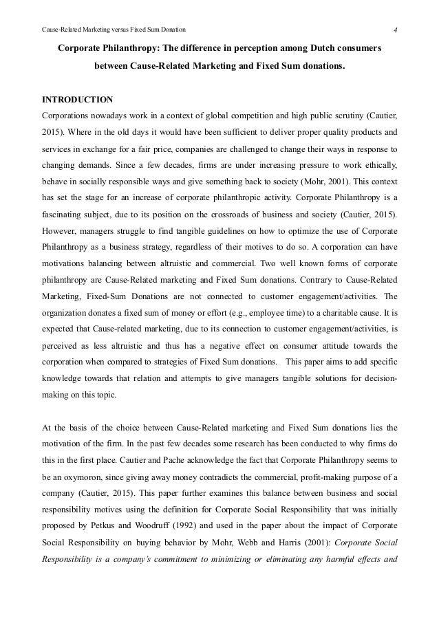 Standard academic essay