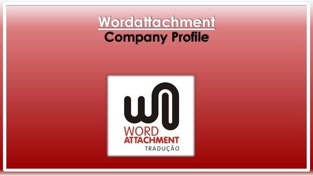 Wordattachment Company Profile