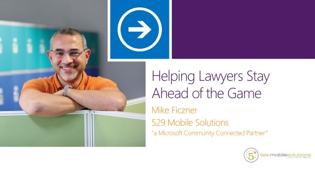 Helping Lawyers Stay Ahead of the Game