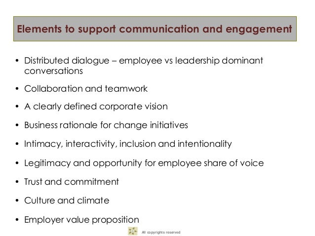 Commitment Vs Involvement: Conference Hub-Internal Communication And Employee