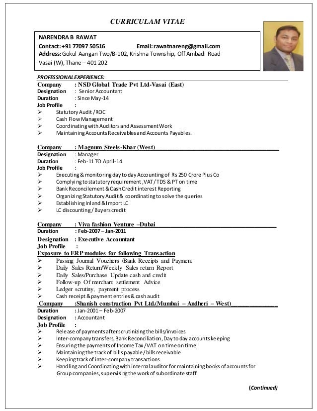 Famous Linkedin Accounting Resume Elaboration - Administrative ...