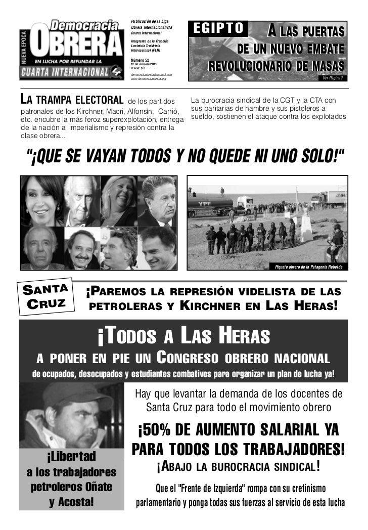 Publicación de la Liga                                   Obrera Internacionalista                                   Cuarta...