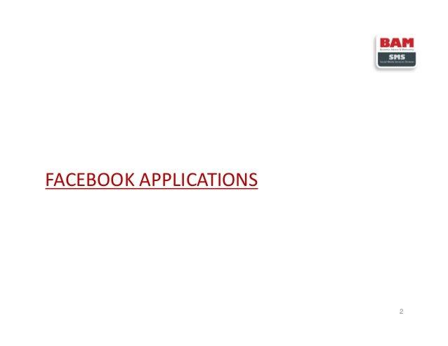 FACEBOOK APPLICATIONS 2