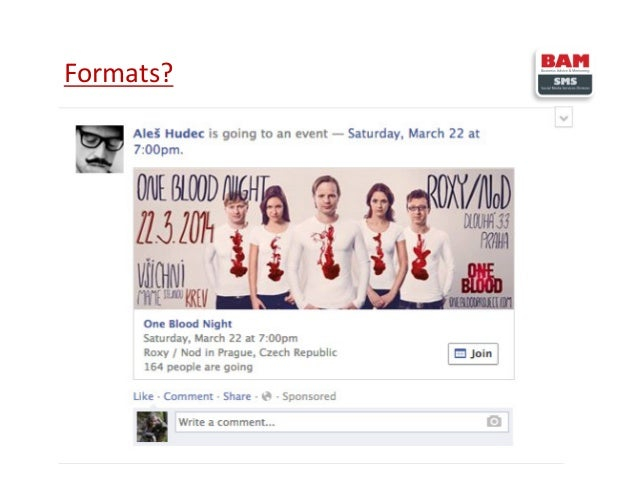 Sponsored stories – Facebook human interaction turned into advertising Facebook allows you to tell your fan's friend that:...